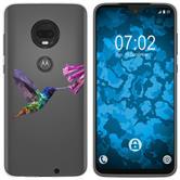 Motorola Moto G7 Plus Silicone Case vector animals M3