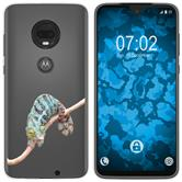 Motorola Moto G7 Silicone Case vector animals M7