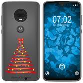 Motorola Moto G7 Plus Silicone Case Christmas X Mas M1