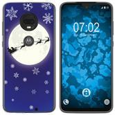 Motorola Moto G7 Plus Silicone Case Christmas X Mas M4