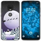 Motorola Moto G7 Plus Silicone Case Christmas X Mas M5