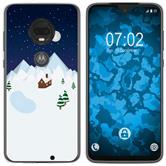 Motorola Moto G7 Plus Silicone Case Christmas X Mas M6