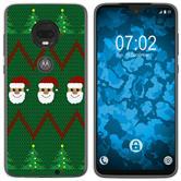 Motorola Moto G7 Plus Silicone Case Christmas X Mas M7