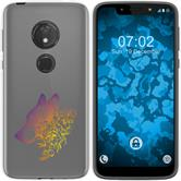 Motorola Moto G7 Play Silicone Case floral M3-3