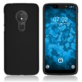 Hardcase Moto G7 Play rubberized black Cover
