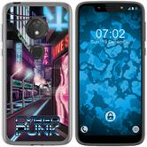 Motorola Moto G7 Play Silicone Case Retro Wave M4