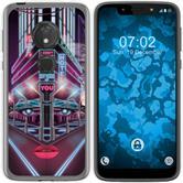 Motorola Moto G7 Play Silicone Case Retro Wave M5
