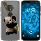 Motorola Moto G7 Play Silikon-Hülle Vektor Tiere  M4