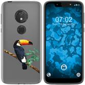 Motorola Moto G7 Play Silicone Case vector animals M5