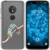 Motorola Moto G7 Play Silicone Case vector animals M7