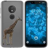 Motorola Moto G7 Play Silicone Case vector animals M8