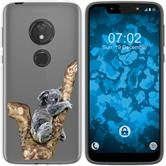 Motorola Moto G7 Play Silicone Case vector animals M9