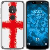Motorola Moto G7 Play Silicone Case WM England M4