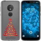 Motorola Moto G7 Play Coque en Silicone Noël X Mas M1