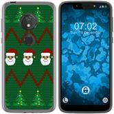Motorola Moto G7 Play Silicone Case Christmas X Mas M7