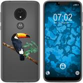 Motorola Moto G7 Power Silicone Case vector animals M5