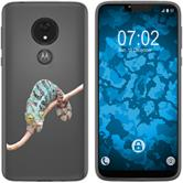 Motorola Moto G7 Power Custodia in Silicone vettore animali  M7