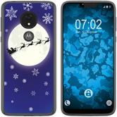 Motorola Moto G7 Power Silicone Case Christmas X Mas M4