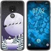 Motorola Moto G7 Power Silicone Case Christmas X Mas M5