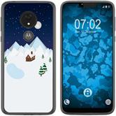 Motorola Moto G7 Power Silicone Case Christmas X Mas M6