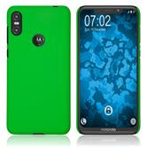Hardcase One (P30 Play) rubberized green Cover