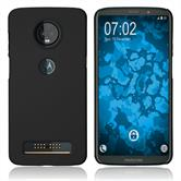Hardcase Moto Z3 Play rubberized black Case