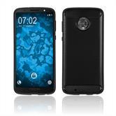 Silikon Hülle Moto G6 Ultimate schwarz Case