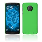 Hardcase Moto G6 Plus rubberized green Case