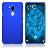 Silikon Hülle G7 ThinQ matt blau Case