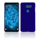 Hardcase V30S ThinQ rubberized blue Case