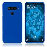 Silicone Case V40 ThinQ matt blue Cover