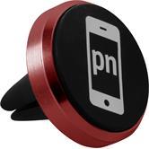 Lüftungsschlitz Handy-Halterung Universal passend für Smartphones in rot