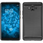 Silicone Case Mate 10 Ultimate gray Case