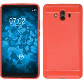 Silicone Case Mate 10 Ultimate red Case