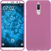 Silicone Case Mate 10 Lite matt hot pink Case