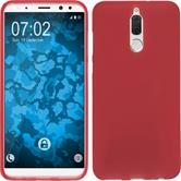 Silicone Case Mate 10 Lite matt red Case