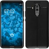 Silicone Case Mate 10 Pro leather optics black Case