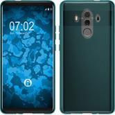 Silicone Case Mate 10 Pro transparent turquoise Case