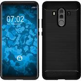 Silicone Case Mate 10 Pro Ultimate black Case