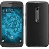 Silicone Case for Motorola Moto G 2015 3. Generation 360° Fullbody gray