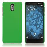Hardcase Nokia 3.1 rubberized green Cover