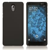 Hardcase Nokia 3.1 rubberized black Cover