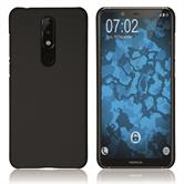 Hardcase Nokia 5.1 Plus rubberized black Cover