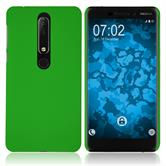 Hardcase Nokia 6.1 (2018) rubberized green Case