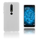 Silikon Hülle Nokia 6.1 (2018) matt clear Case