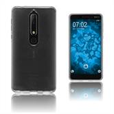 Silikon Hülle Nokia 6.1 (2018) transparent Crystal Clear Case