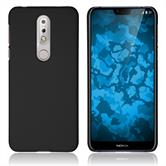 Hardcase Nokia 7.1 rubberized black Cover