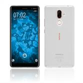 Custodia in Silicone Nokia 7 Plus trasparente Crystal Clear Case