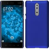 Hardcase 8 rubberized blue Case