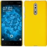 Hardcase 8 rubberized yellow Case